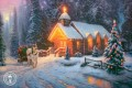 Christmas Chapel I Thomas Kinkade kids