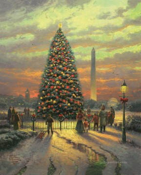Symbols of Freedom Xmas Oil Paintings