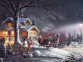 Terry Redlin Winter Wonderland kids