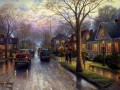 Hometown Christmas Thomas Kinkade kids