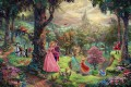 Thomas Kinkade disney sleeping beauty kids