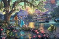 Thomas Kinkade the princess Christmas kids