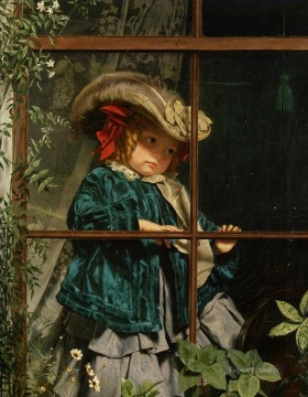 Sophie Painting - no walk today Sophie Gengembre Anderson child