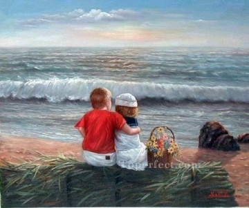 yxr063aD impressionism children Oil Paintings