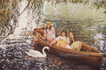 yxr088aD impressionism children Oil Paintings