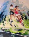 fsp0017C impressionism oil painting sport