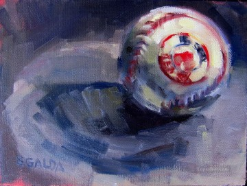 Sport Painting - baseball 05 impressionists