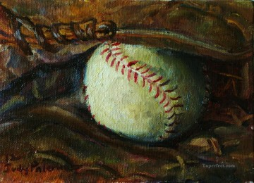 Sport Painting - baseball 06 impressionists