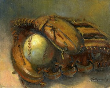 Sport Painting - baseball 09 impressionists