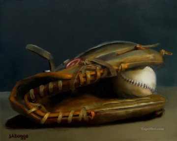 Sport Painting - baseball 07 impressionists