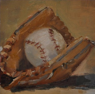 impressionists Oil Painting - baseball 15 impressionists