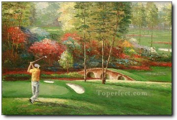 yxr0046 impressionism sport golf Oil Paintings