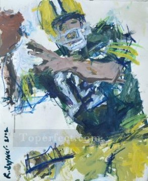 American football 01 impressionists Oil Paintings