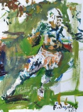 American football 03 impressionists Oil Paintings