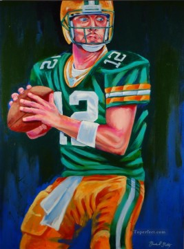 impressionists Oil Painting - American football 13 impressionists