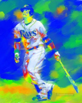 baseball 12 impressionists Oil Paintings