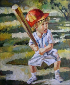 impressionists Oil Painting - baseball 16 impressionists