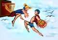 basketball 04 impressionists