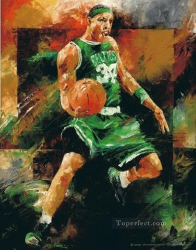 basketball 18 impressionists Oil Paintings