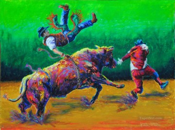 Sport Painting - corrida Double Jeopardy impressionists