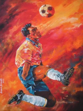 football 04 impressionist Oil Paintings