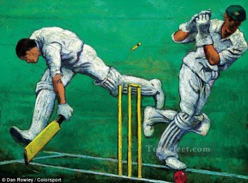 sport 2 impressionist Oil Paintings