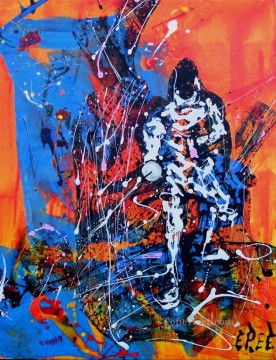sport impressionist Oil Paintings