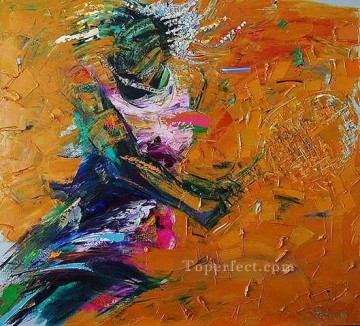 Sport Painting - tennis ball 2 impressionist
