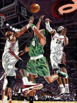 Basketball kleiner vanaf impressionist Oil Paintings