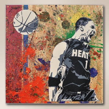 basketball 14 impressionist Oil Paintings