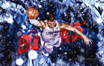 basketball 16 impressionist Oil Paintings