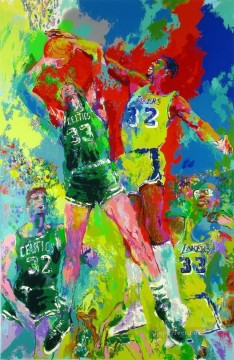 basketball 03 impressionist Oil Paintings