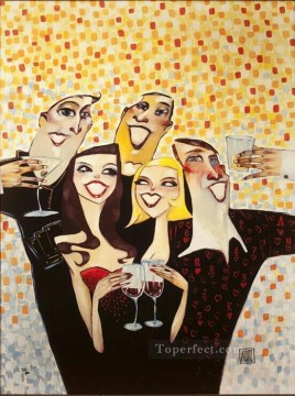 casino pokers Cheers Oil Paintings