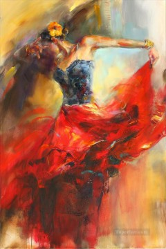 Ballet dancer AR Impressionist Oil Paintings