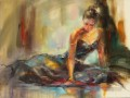 Beautiful Girl Dancer AR 04 Impressionist