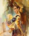 Beautiful Girl Dancer AR 07 Impressionist