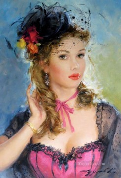 Women Painting - Beautiful Girl KR 003 Impressionist