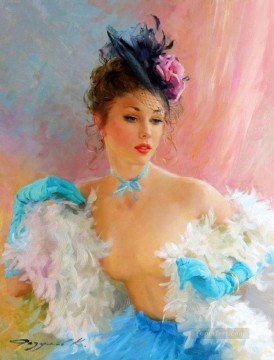Women Painting - Beautiful Girl KR 038 Impressionist