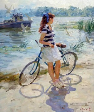 Women Painting - Beautiful Girl VG 12 Impressionist