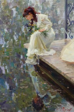 Women Painting - Beautiful Girl VG 20 Impressionist