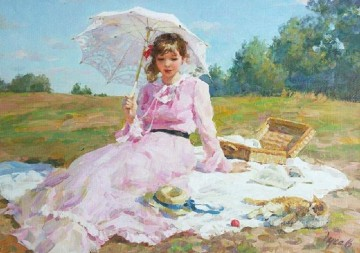 Beautiful Girl VG 32 Impressionist Oil Paintings