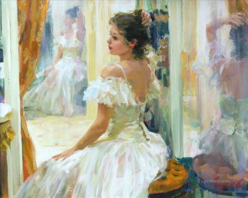 Women Painting - Beautiful Girl VG 36 Impressionist