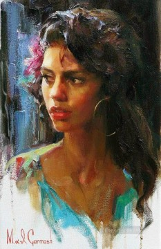 Girl from Barcelona MIG Impressionist Oil Paintings