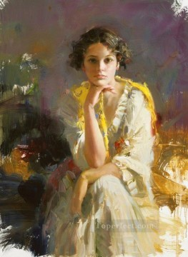 Pino Daeni 11 beautiful woman lady Oil Paintings