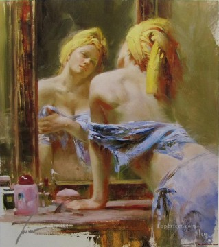 Pino Daeni 19 beautiful woman lady Oil Paintings