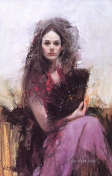 Women Painting - Pino Daeni 6 beautiful woman lady