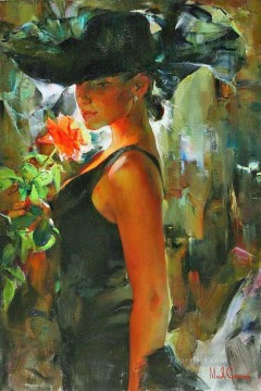Pretty Girl MIG 06 Impressionist Oil Paintings