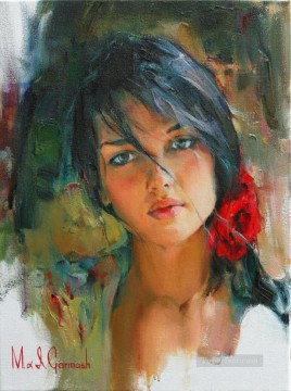 Pretty Girl MIG 36 Impressionist Oil Paintings