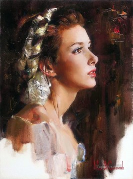 Women Painting - Pretty Girl MIG 37 Impressionist