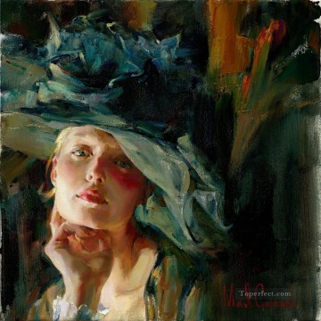 Pretty Girl MIG 48 Impressionist Oil Paintings